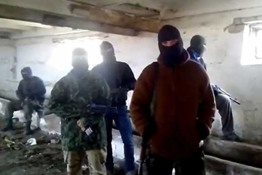 Партизаны Донбасса обратились к российским обезьянам Путина