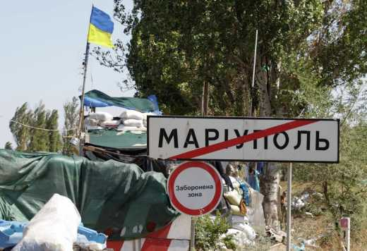 За удар по украинским позициям под Мариуполем боевики дорого заплатили