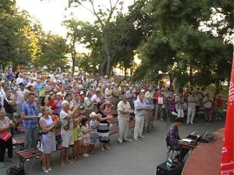 Мракобесие в Крыму: в Севастополе прошел концерт посвященый Сталину (видео)