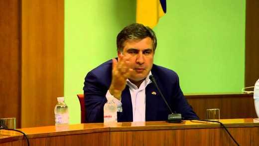 Саакашвили: Люди просили сжечь здание прокуратуры (ВИДЕО)