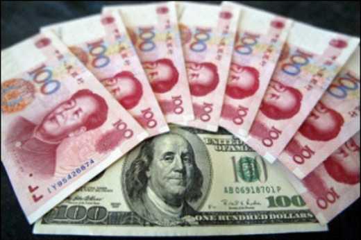Обвал китайского юаня