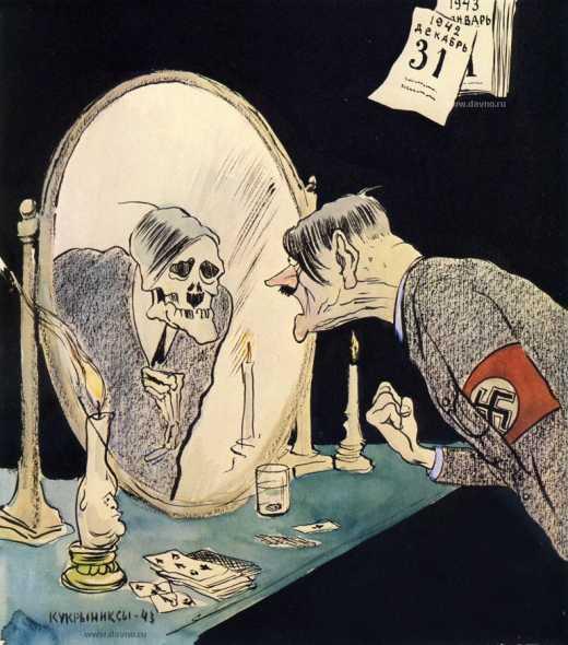 Дивный русский мир: Советский суд Краснодара влепил штраф за карикатуру на Гитлера