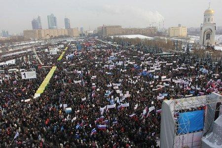 В РФ даже военно-космические силы учатся устранять народное восстание