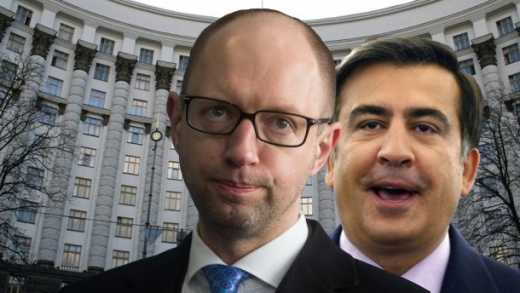Меня обманули, Яценюк проводит не реформы, а пляшет под дудку олигархов – Саакашвили ВИДЕО