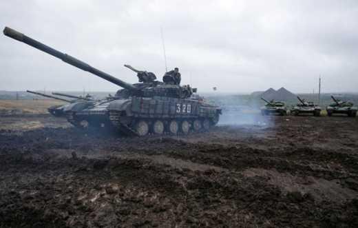 Под Торезом взорвался танк ДНР
