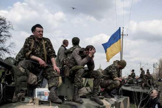 Украинские военные «зачищают» Донбасс от диверсантов