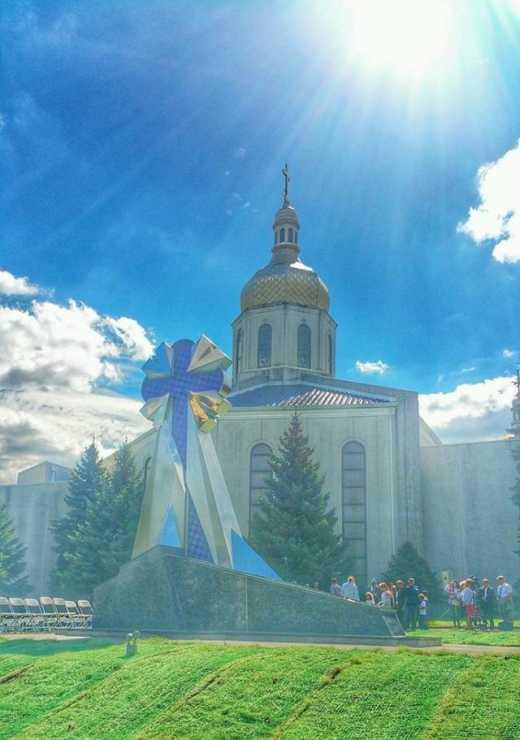В США открыли памятник Небесной Сотне (фото)