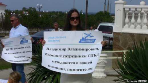 Матерей-одиночек оккупанты Севастополя выкидывают на улицу (фото)