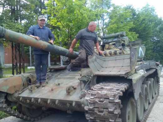 Рекорды воскрешения: за три месяца – тридцать танков (фото)
