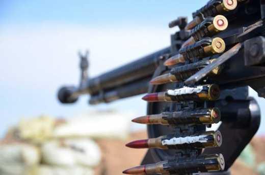 Терористи продовжують здійснювати обстріли українських позицій