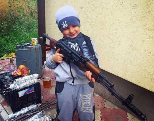 Детство в ДНР