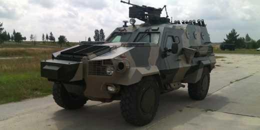 Украинский бронеавтомобиль Дозор-Б уходит в серию! (фото)