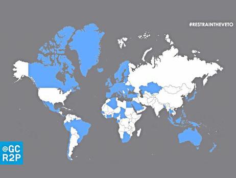 Уже 67 стран за лишение России права вето в СБ ООН