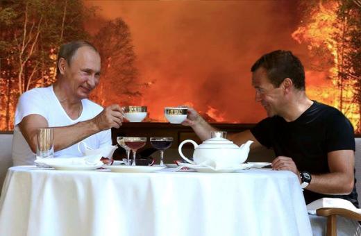 Пожары в России бьют рекорды!