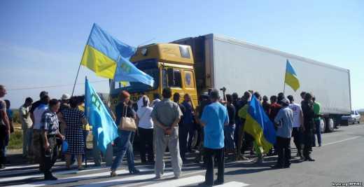 Продовольча блокада окупованого Криму
