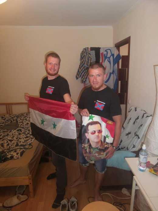 Моторолка спасает русских в Сирии