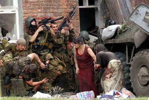 Синдром злобных янки: Россиянка обвинила американцев за события в Беслане