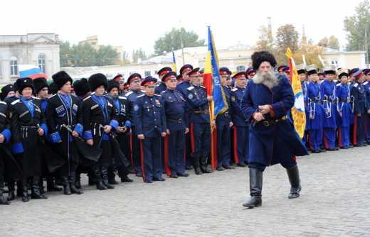 «Крым засорят кизяками», — то есть, я хотел сказать, Крым заселят казаками.