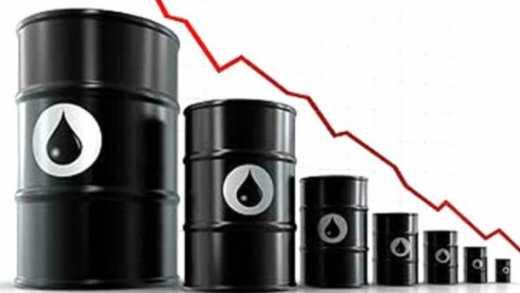 В среду цены на нефть упали почти на 4%