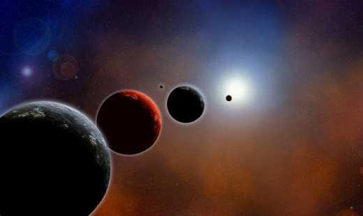 Рано утром в октябре не проспи парад планет