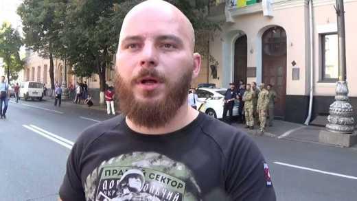 Правый сектор пообещал действовать против врагов методами ОУН Бандеры (ВИДЕО)
