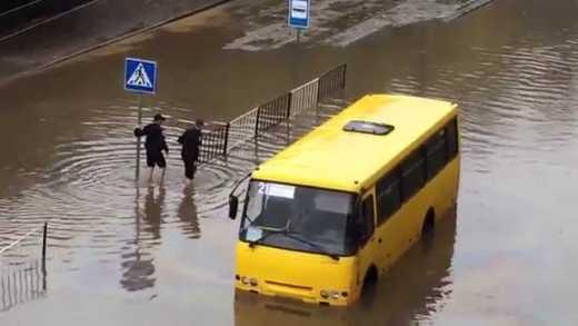 Шок! Каратели во Львове воруют пассажиров прямо из автобуса!
