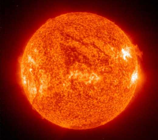 В NASA зафиксировали вспышку на Солнце