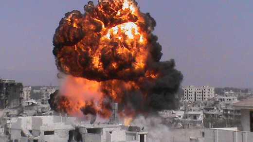 Сириец рассказал, как Россия бомбит мирное население