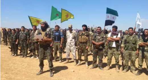 Туреччина вважає угрупування курдів терористичною організацією і застерігає Росію та США до співпраці з ними