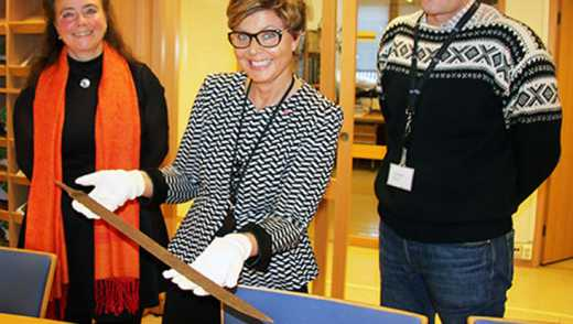 В Норвегии нашли 1200-летний меч викингов