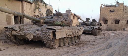 """""""Сирийская свободная армия"""" захватила два российских танка"""