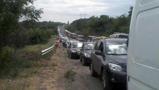 В Артемовске – массовая эвакуация с города