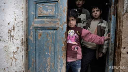 Сирийцы вышли на митинг и призвали Россию прекратить убивать детей
