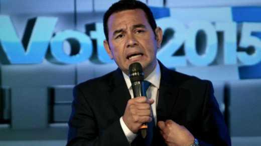 Президентом Гватемалы стал комик