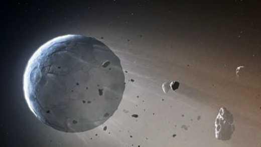 Ученые нашли разрушающую планету