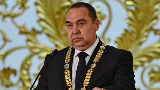 Плотницкий дал дёру с Луганска