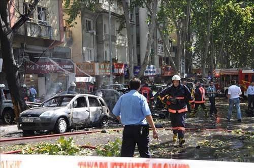 Анкару сколихнули вибухи