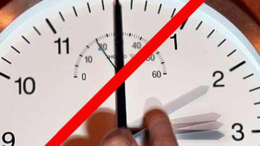 В оккупированном Донбассе запретили переводить часы