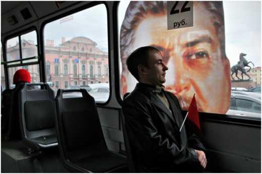 """""""Високодуховний"""" росіян побив дідуся за зірваний портрет Сталіна"""