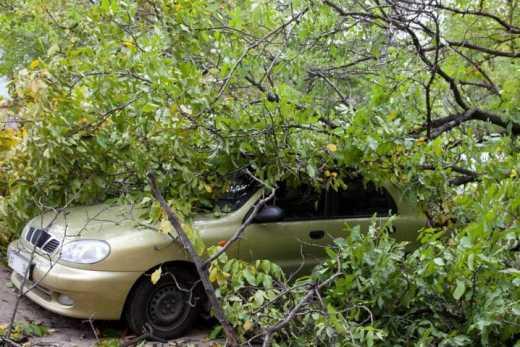 На Київ насувається ураган