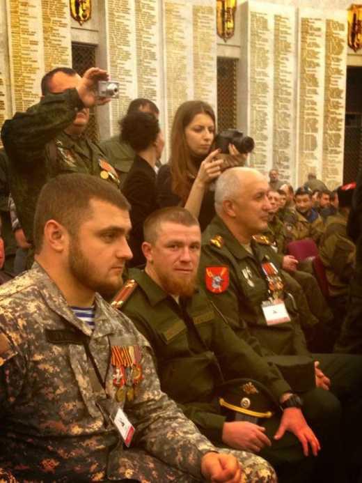 Моторолка в Москве, на съезде Союза Добровольцев Донбасса (фото)