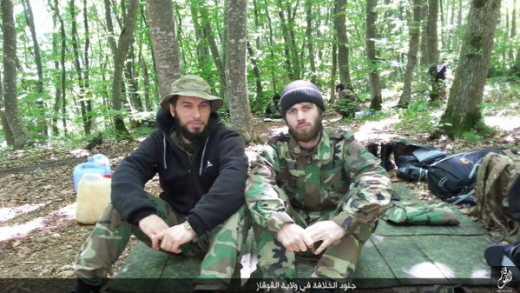 ИГИЛ уже на Кавказе ФОТО