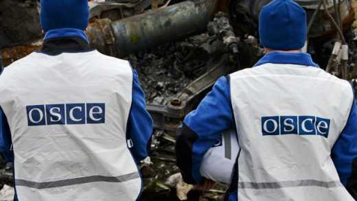 Наблюдатели ОБСЕ обнаружили технику «ДНР», не отведенную на положенное расстояние