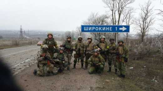 Боєць АТО: терористи обстріляли Широкіне і Піски