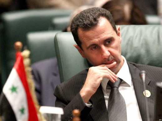 Сегодня ночью в кремле видели Ассада