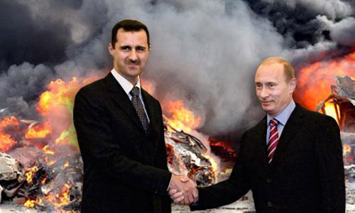 Путін і Асад домовилися про сфери впливу у Сирії