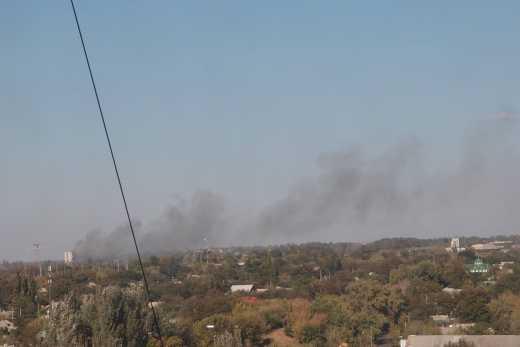 База Гіві у Донецьку вибухнула