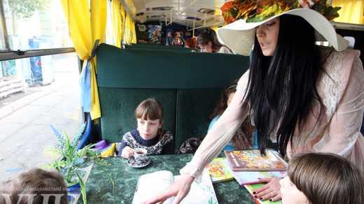 В рейс вышел трамвай для детей