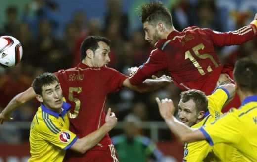 Іспанія виставить на матч проти України резервний склад