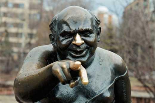 В Москве был похищен памятник актёру Евгению Леонову
